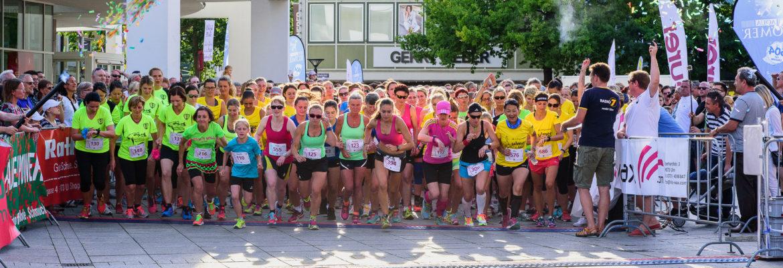 2000 Mädels waren beim 4. City-wax Frauenlauf am Start