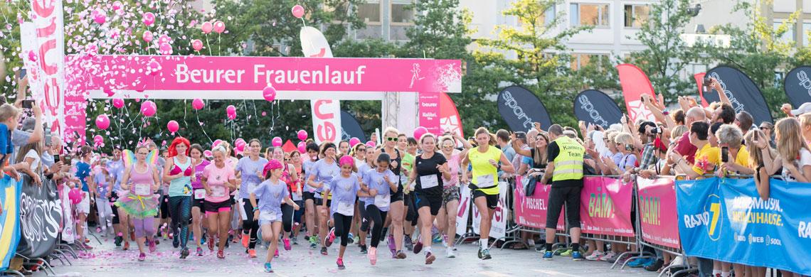 Der 6. Beurer Frauenlauf findet am Freitag, den 12. Juli 2019 statt