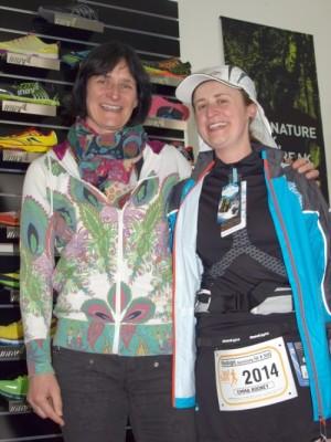 Emma Rooney glückliche Gewinnerin des Raidlight Ausrüstungspakets