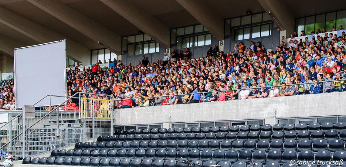 Über 1200 Teilnehmer beim Triathlon