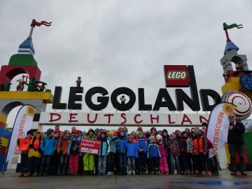 Gewinnerschulen der ratiopharm Jugendläufe im Legoland