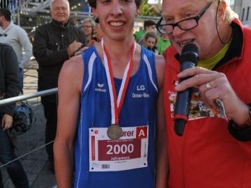 Die Zweite war die Erste – Unser Moderator Artur Schmidt berichtet im Laufmagazin Spiridon über den Einstein-Marathon 2015