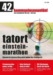 Titelseite Laufmagazin 2016