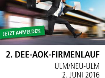 Knapp 700 Startplätze für 2. DEE-AOK Firmenlauf vergeben